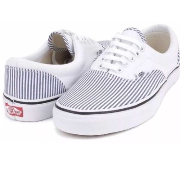 8989b2e13bf525 Vans Era Deck Club True White Skate Shoes